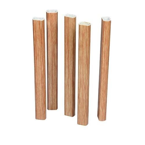 百香果立柱代替水泥柱、钢管